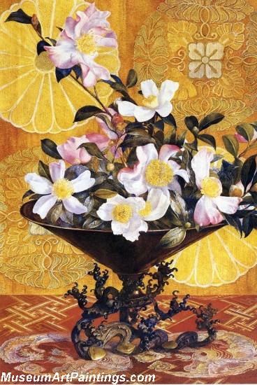 Sazanqua Wild Tea Yokohama by Henry Roderick Newman