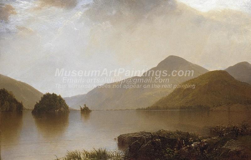 Scenery Paintings Lake George