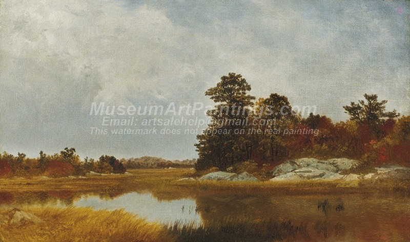 Scenery Paintings October in the Marshes