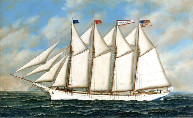 Schooner Marie Gilbert