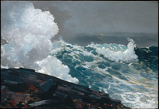 Seascape Painting by Winslow Homer