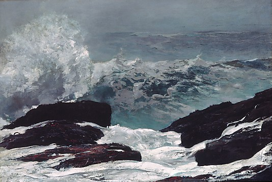 Seascape Paintings Maine Coast by Winslow Homer