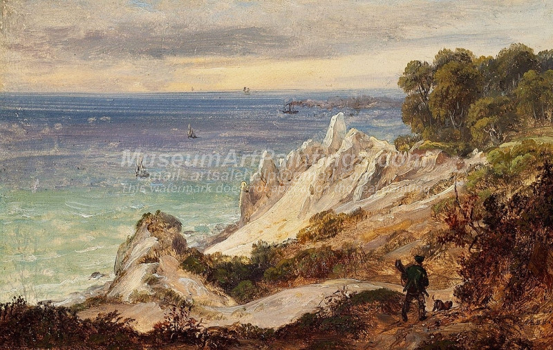 Seascape Paintings Moensklint