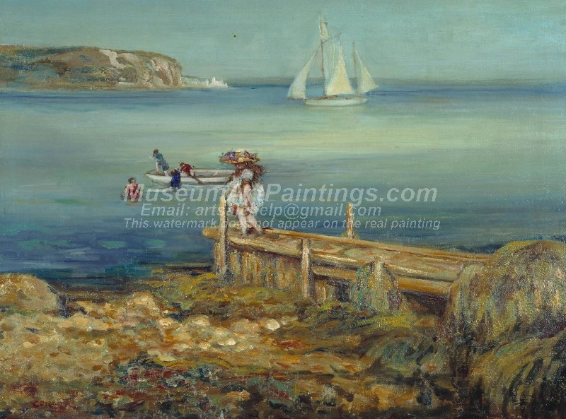 Seascape Paintings Swanage Bay