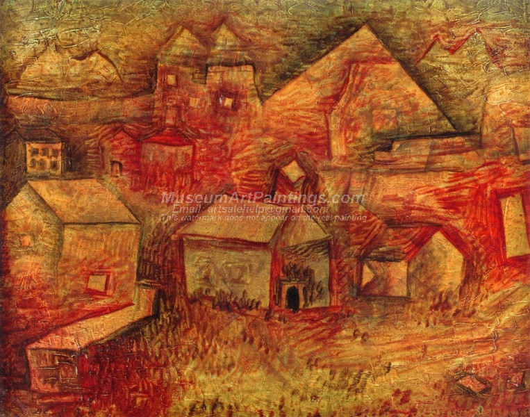 Settlement by the Quarry by Paul Klee