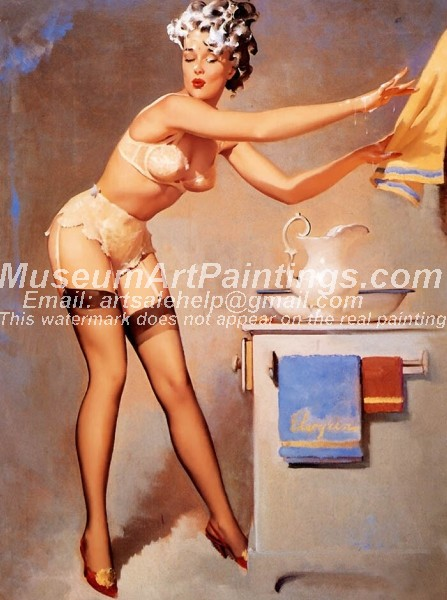 Sexy Girl Paintings 061