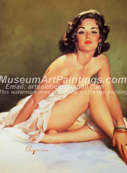 Sexy Girl Paintings 073