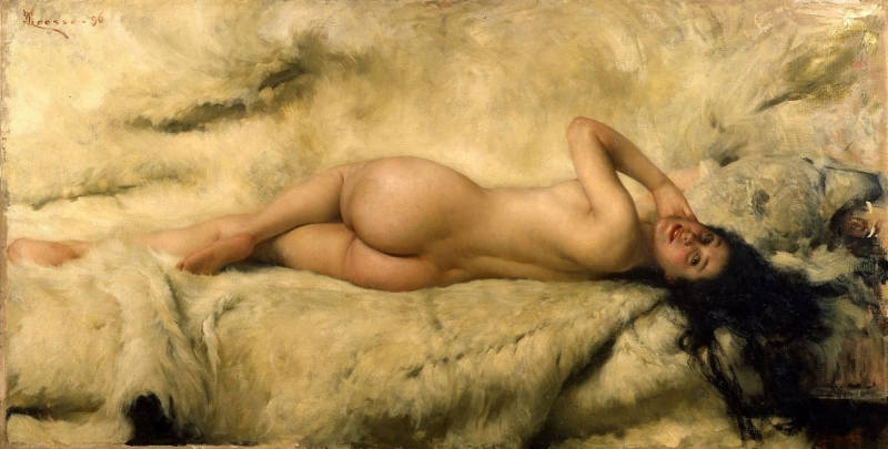 She Nude by Oliver Dennett Grover