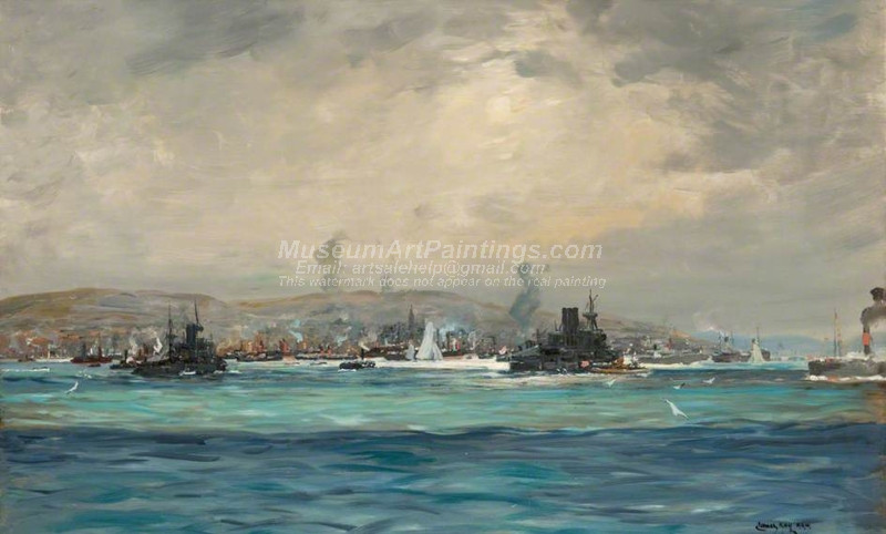 Shipping Pageant Comet Centenary Greenock by James Kay