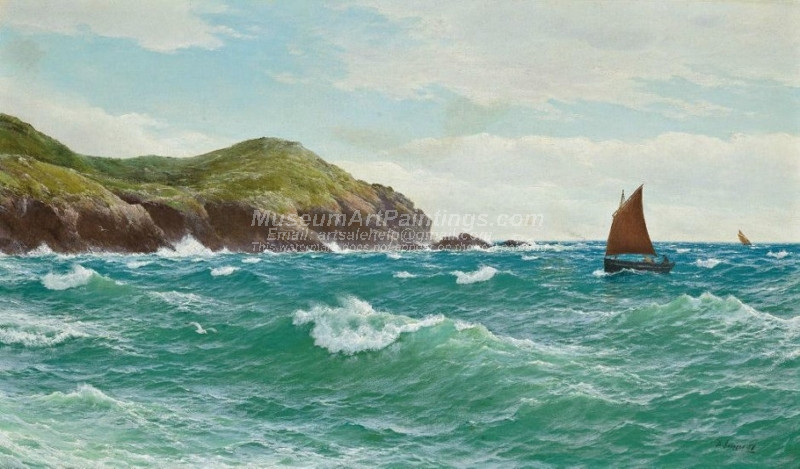 Shipping off a coastline by David James