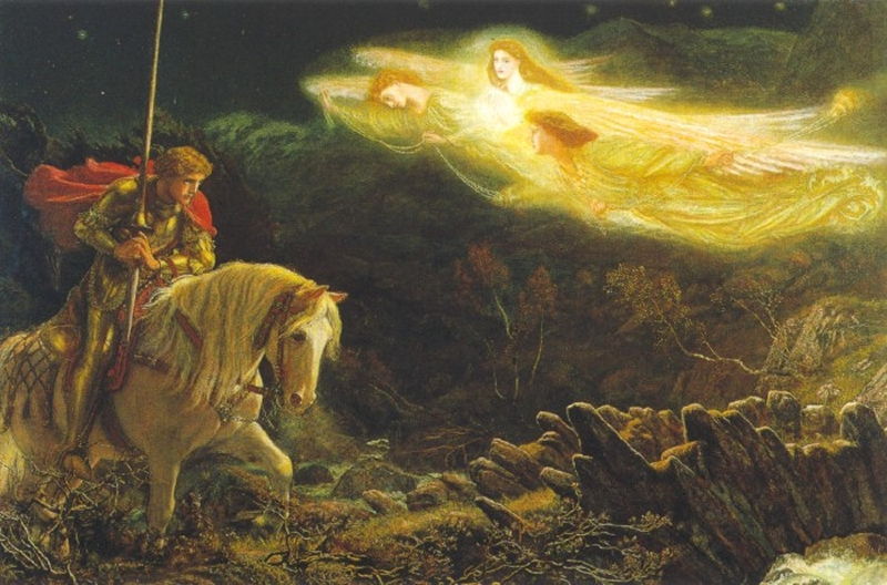 Sir Galahad by Arthur Hughes