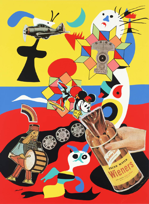 Six Sack O Sauce by Sir Eduardo Paolozzi
