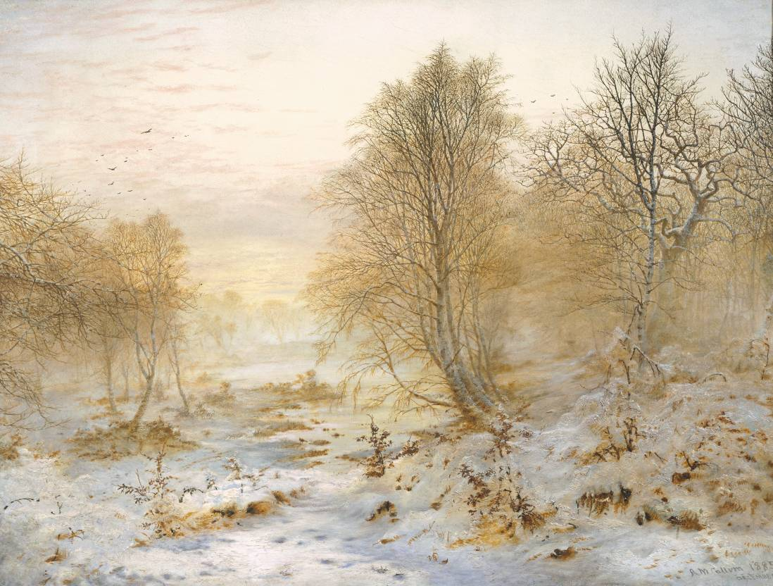 Snow Scene Paintings 013