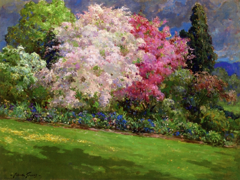 Spring Garden Kennebunkport by Abbott Fuller Graves