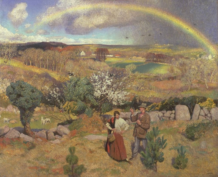 Spring by Dame Laura Knight
