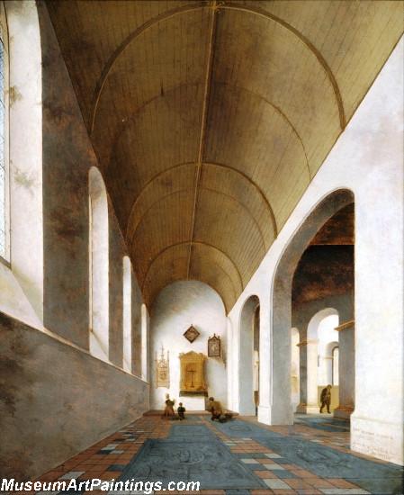 St Antoniuskapel in the St Janskerk Utrecht Painting