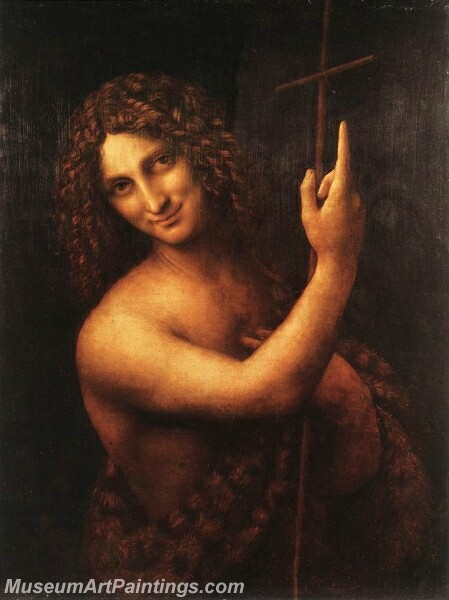 St John the Baptist Painting