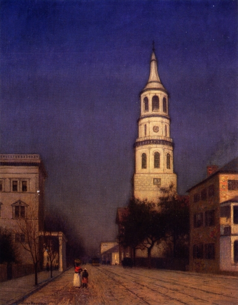 St Michaels by Lowell Birge Harrison