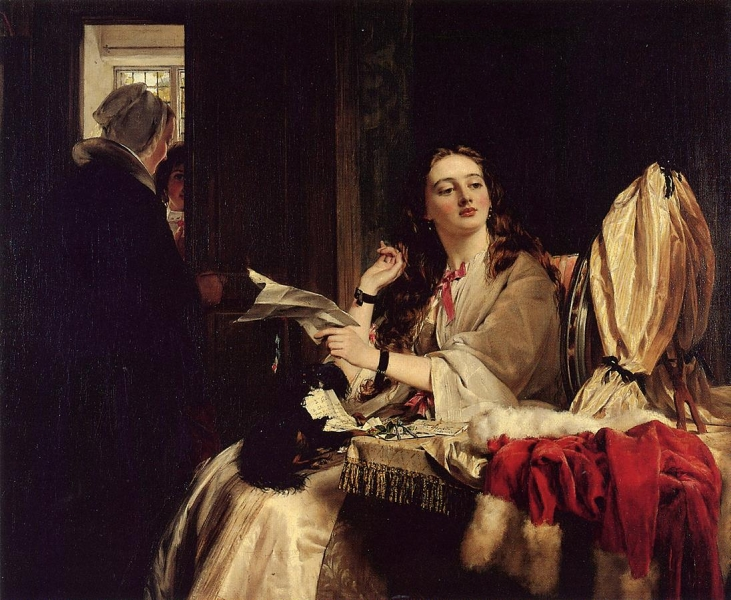 St Valentines Day by John Callcott Horsley