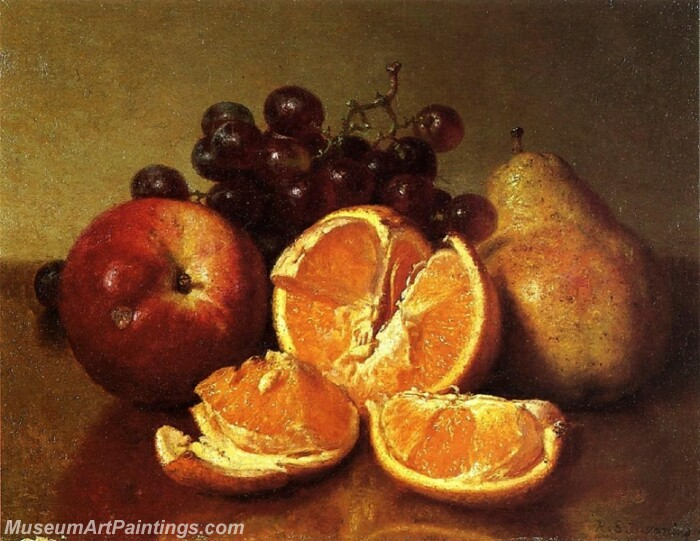 Still Life of Fruit Painting