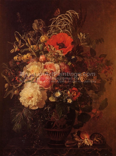 Still Life with Flowers in a Greek Vase