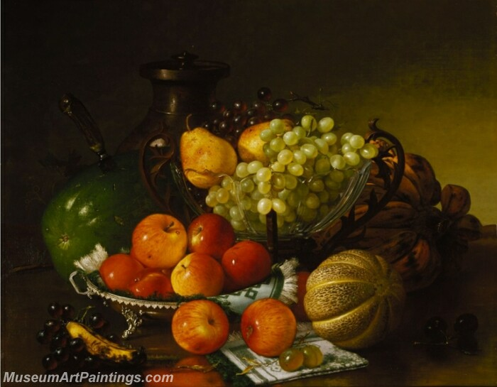 Still Life with Fruit 1 Painting