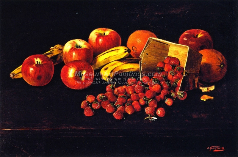 Still Life with Fruit by Joseph Kleitsch