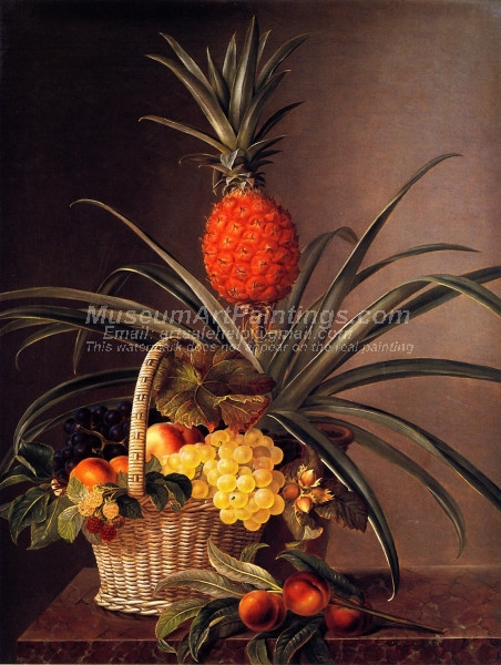 Still Life with Fruits and Pineapple