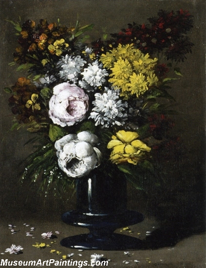 Still Life with Peonies Painting