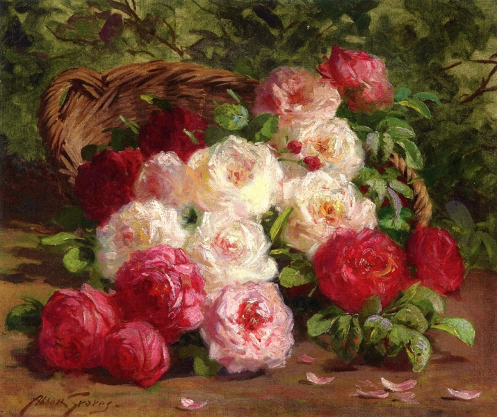 Still Life with Roses 2 by Abbott Fuller Graves