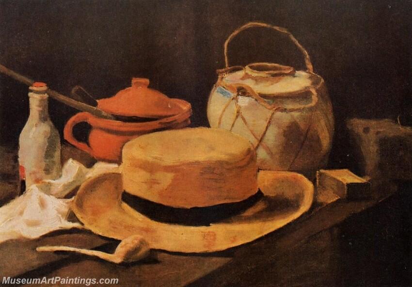 Still Life with Yellow Hat Painting
