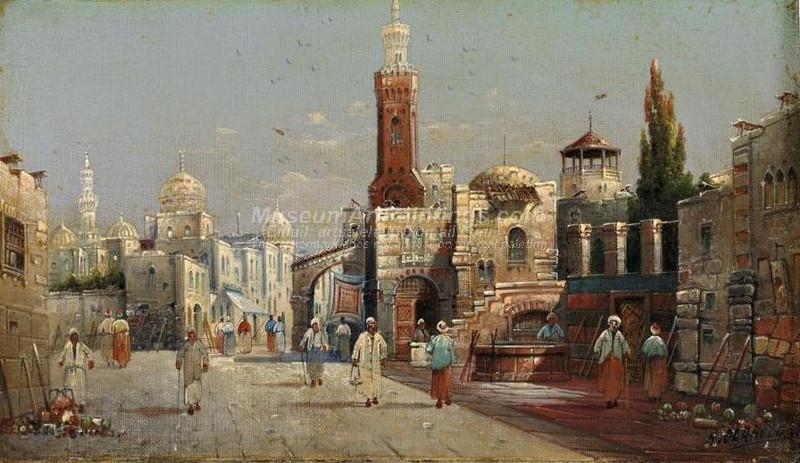 Street Scene Cairo