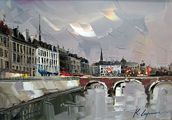 Street Scenery Paintings 025
