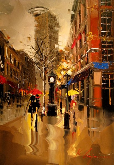 Street Scenery Paintings 027