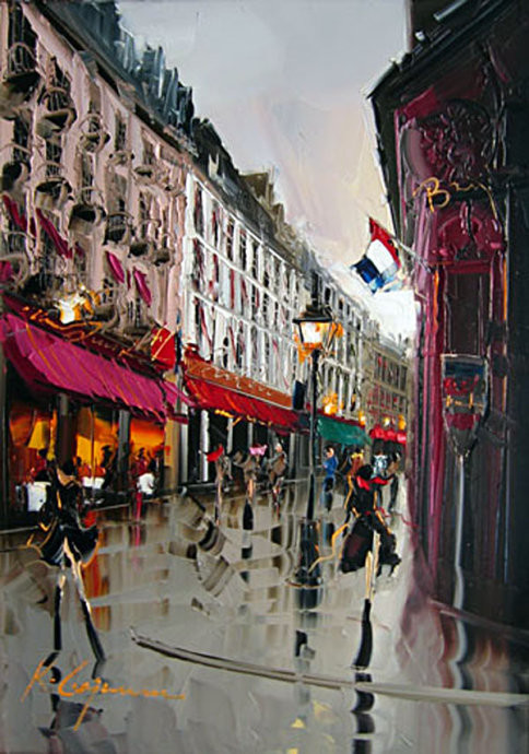 Street Scenery Paintings 030