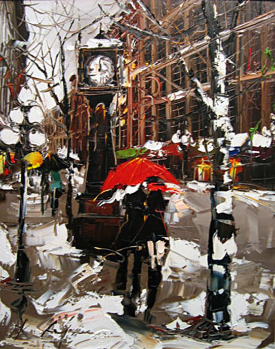 Street Scenery Paintings 031