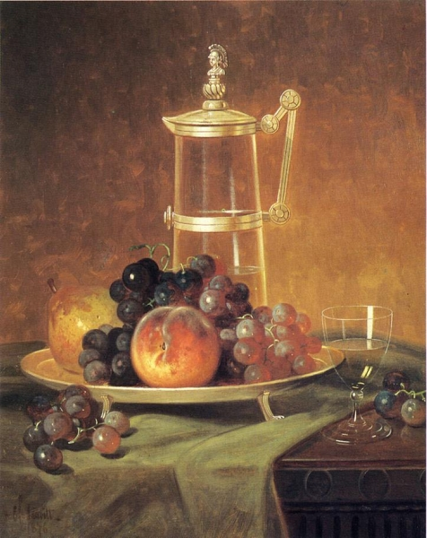 a description of a still life painting of a tabletop Still life of fruit on a marble tabletop  order as handmade oil painting still life of fruit on a marble tabletop  description english: still life of.