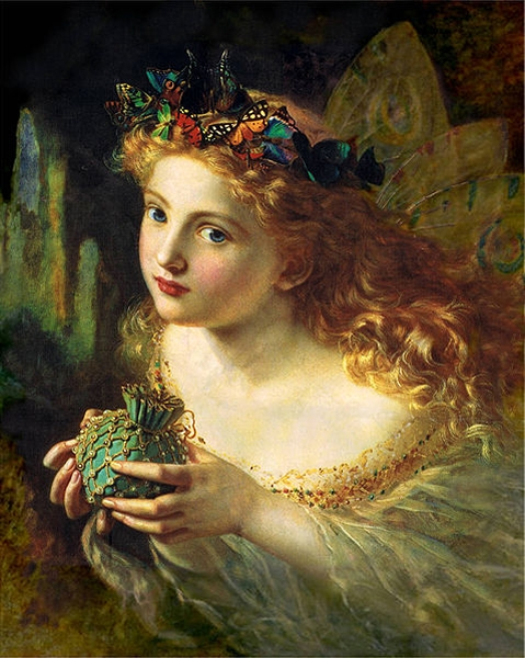 Take the Fair Face of Woman Sophie Anderson