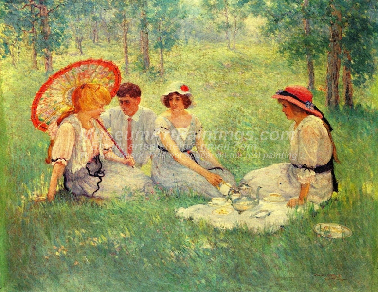 Tea on the Grass by Dawson Dawson Watson