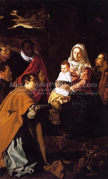 The Adoration of the Magi by Joseph Koch