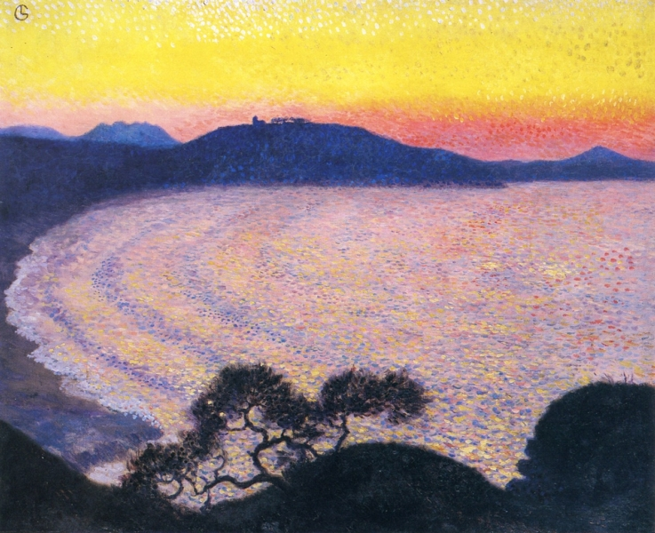 The Bay by Georges Lacombe