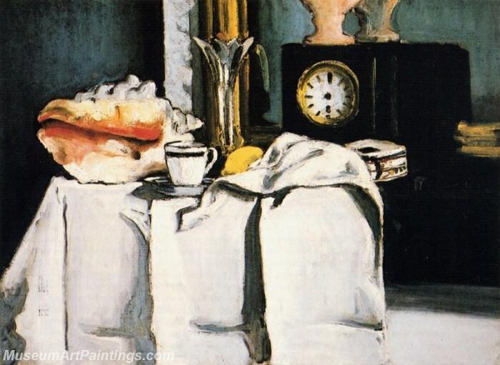 The Black Clock Painting