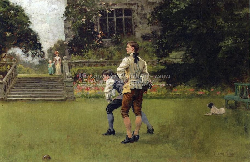 The Bowlers by Henry John Yeend King