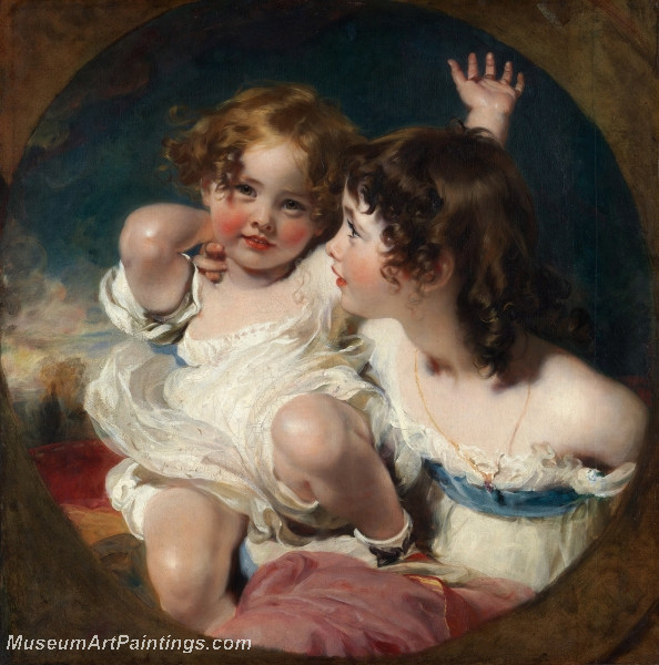 The Calmady Children by Sir Thomas Lawrence P R A