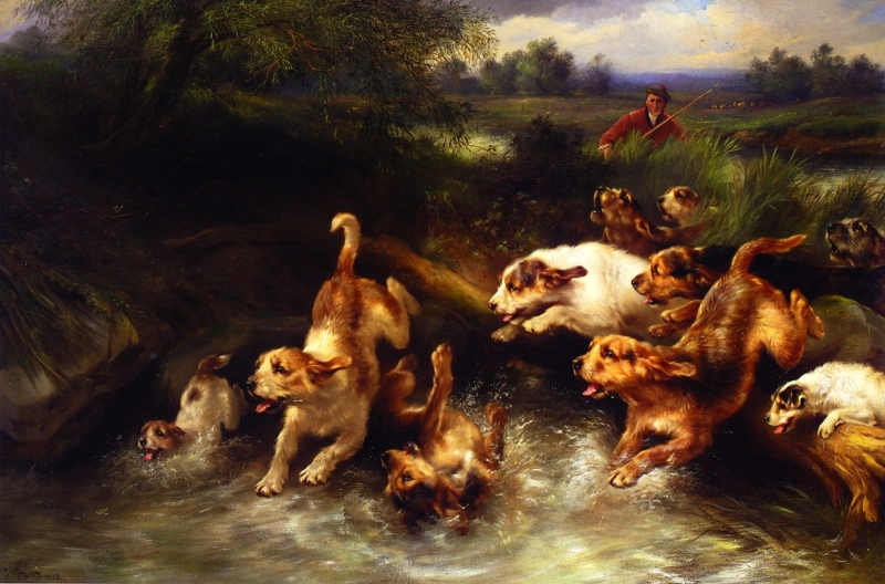The Chase by Walter Hunt