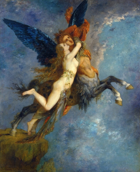 The Chimera by Gustave Moreau 1