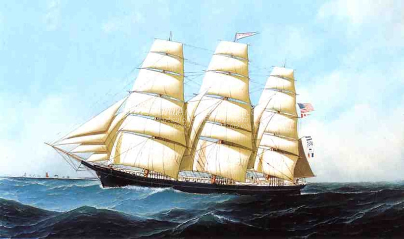 The Clipper Ship Triumphant