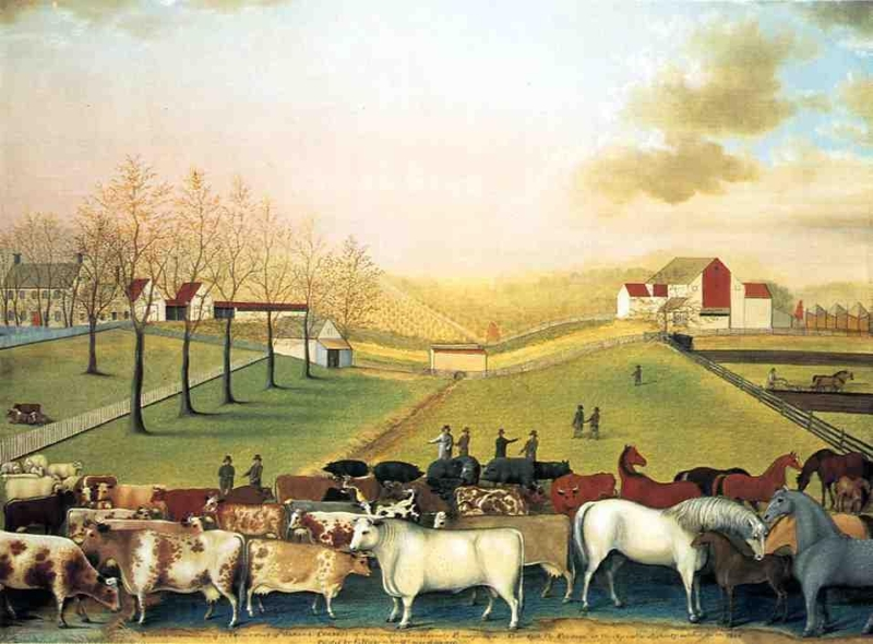 The Cornell Farm by Edward Hicks