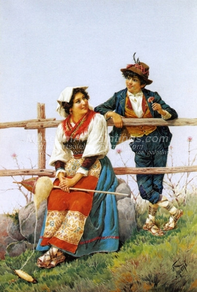 The Courtship by Filippo Indoni