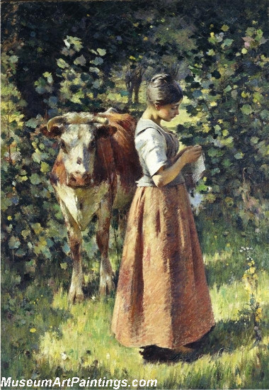 The Cowherd Painting